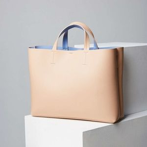 Silence and Noise Jule Oversized Tote Pink Rose